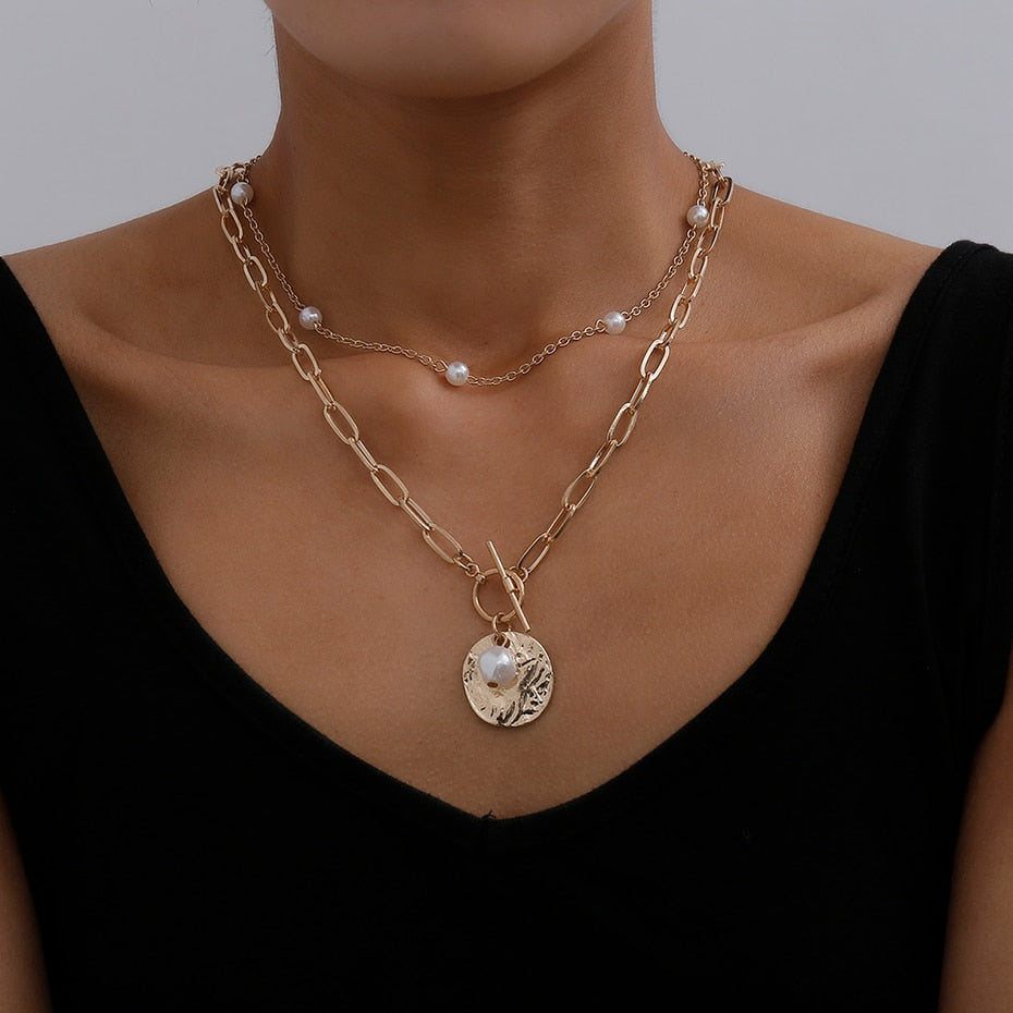 Ete Layered Necklace