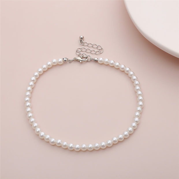 Jacques Pearl Anklet