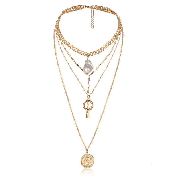 Yvette Layered Necklace