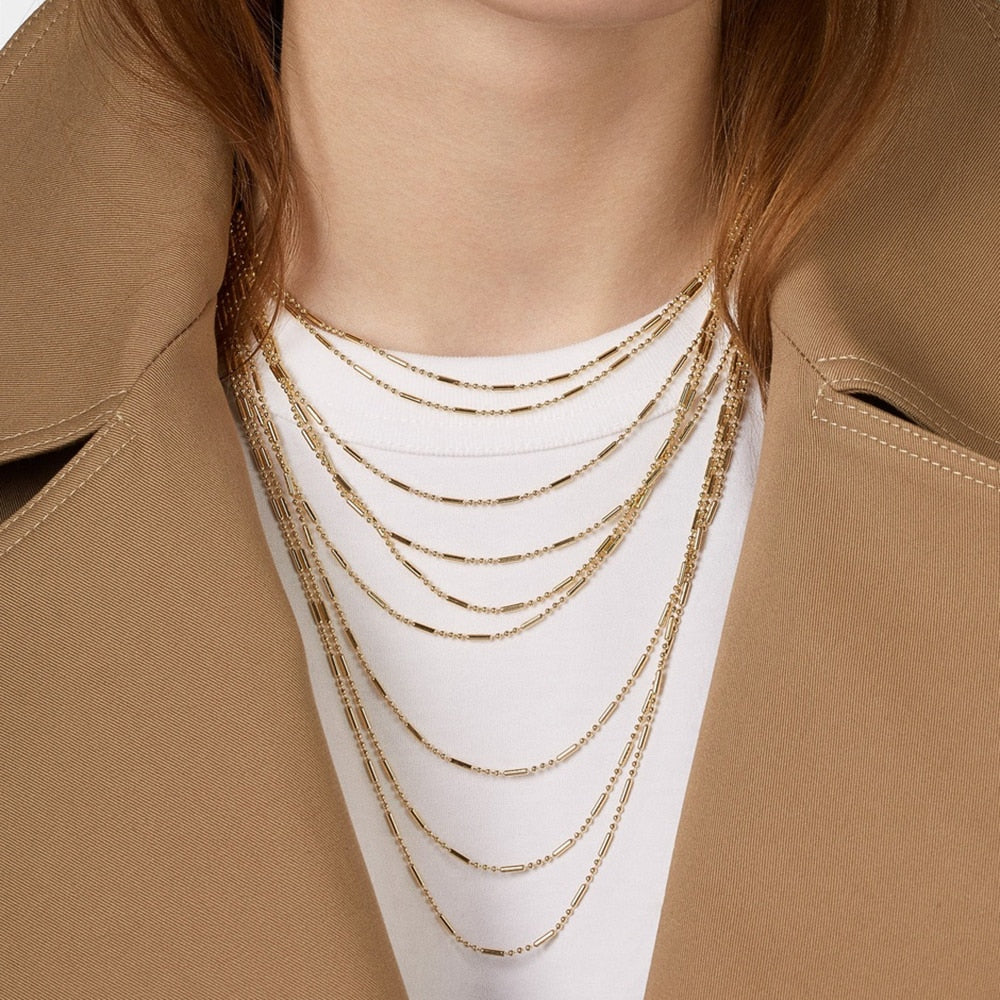 Veux Layered Necklace