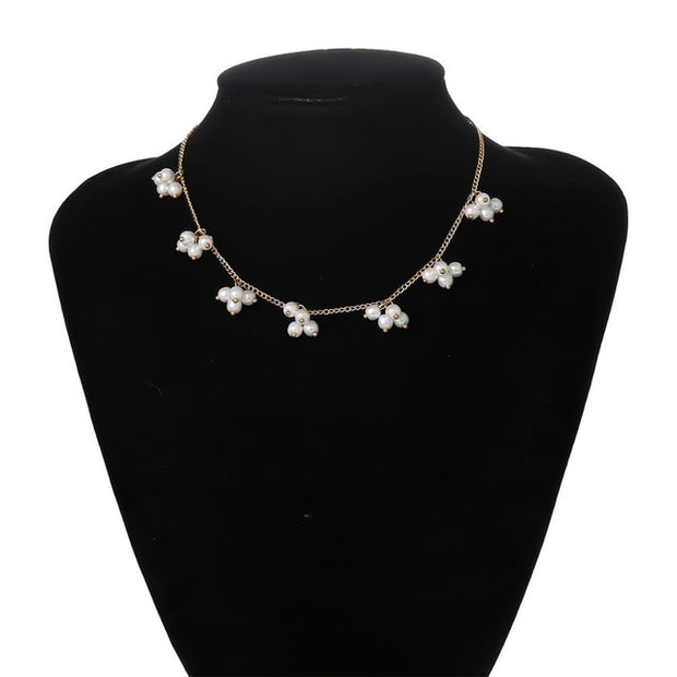 Celeste Pearl Necklace