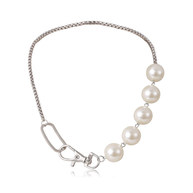 Clementine Pearl Choker Necklace