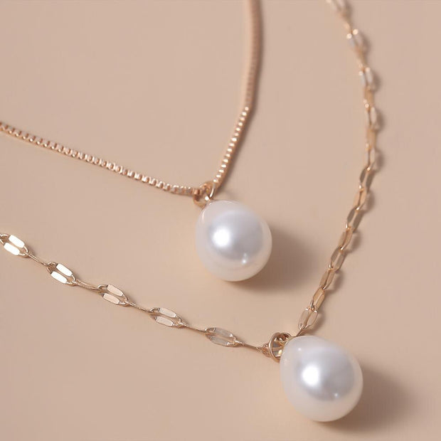 Intrepide Pearl Necklace