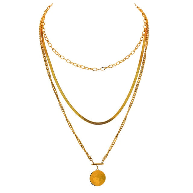 Gail Layered Necklace