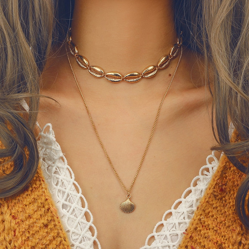 Sourire Layered Necklace