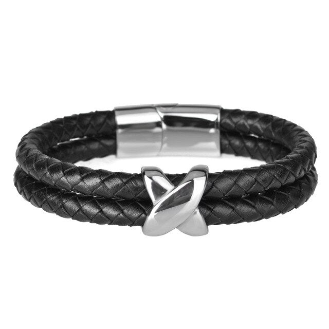 Mirtan Leather Bracelet - Maison Caujaulet