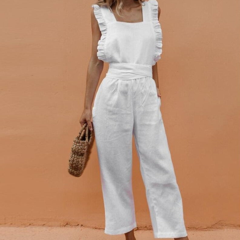 Summer Ruffles Trouser Jumpsuit