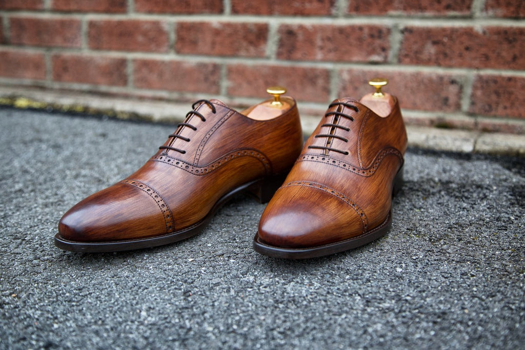 Mr. Shorthorn: Nutmeg + Wood Effect