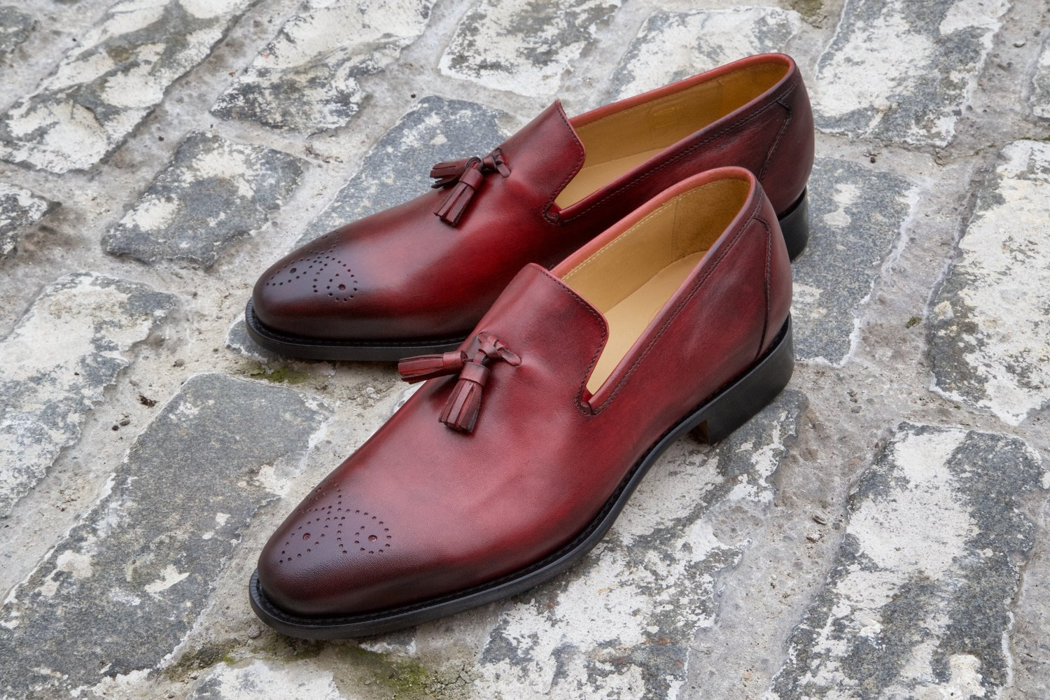 Mr. Devon: Oxblood