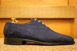 Mr. Taurus: Royal Blue Suede