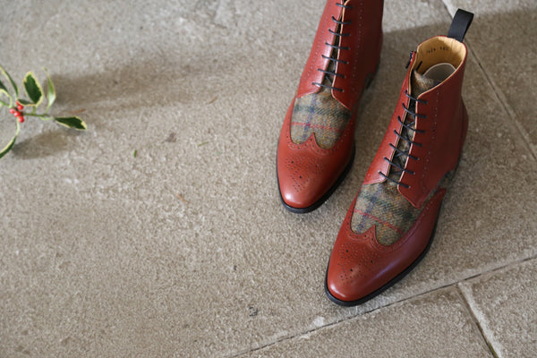 Mr. Bison: Oxblood + Abraham Moon Collection