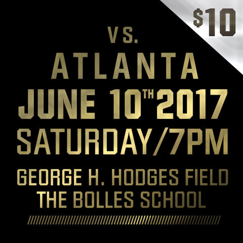 2017 - Vs Atlanta - Saturday, June 10th