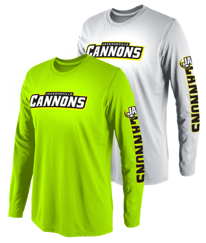 Jacksonville Cannons Men's Callahan Performance Long Sleeve Tee