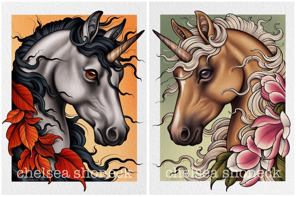 Autumn + Spring Unicorns