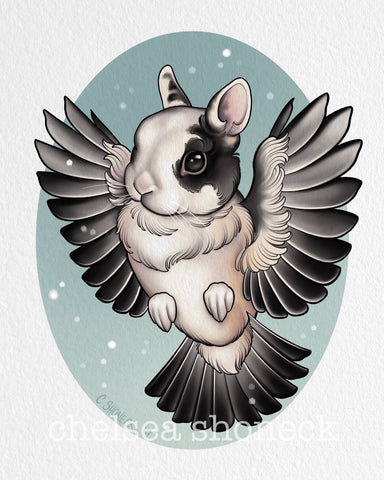 December Bunnybird - Anja (Chickadee)