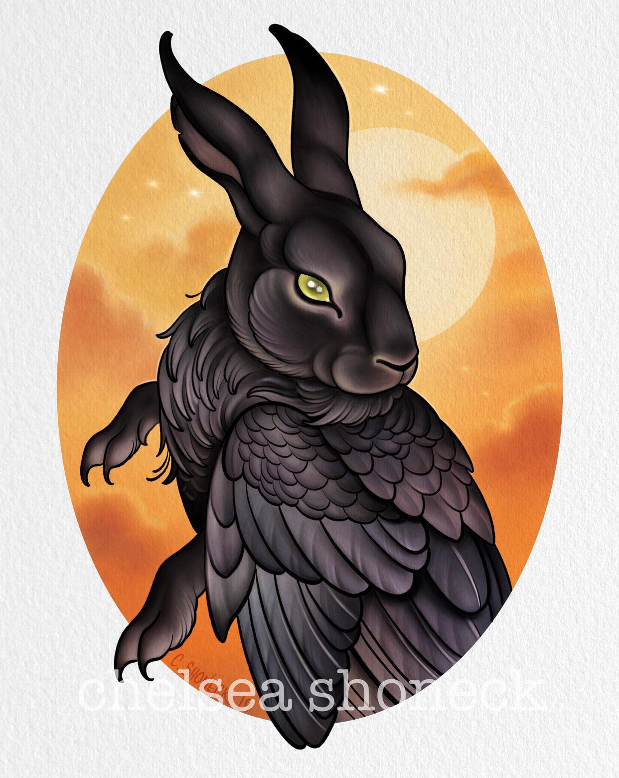 October Bunnybird - Crow
