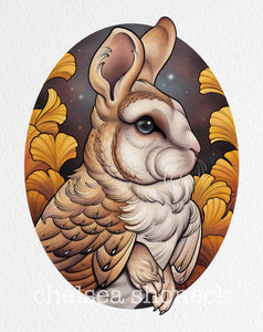 November Bunnybird - Barn Owl