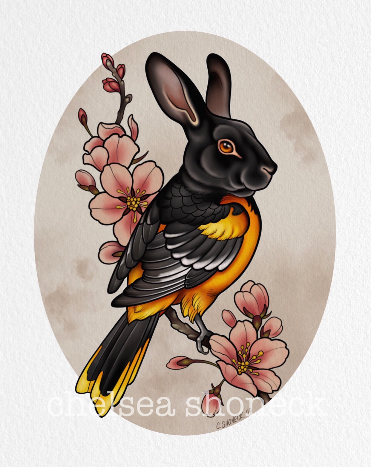 July Bunnybird - Oriole