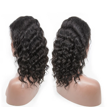 Load image into Gallery viewer, Curly Bob Lace Front Brazilian Human Hair Wig Pre Plucked With Baby Hair