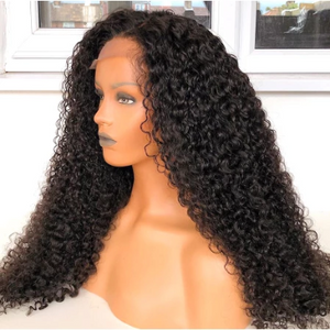 Brazilian Curly 360 Lace Front Human Hair Wigs Water Wave Frontal Wig For Black Women Remy Hair------All products second one 50% off