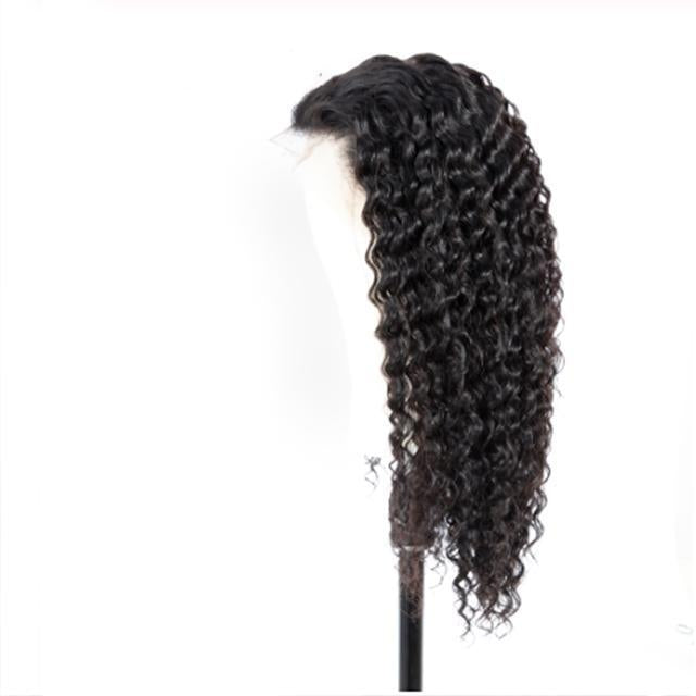 Brazilian Deep Wave Lace Front Human Hair Wigs 13*4 Lace Front Wigs With Baby Hair Pre Plucked Natural Hairline Lace Wigs