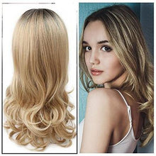 Load image into Gallery viewer, 360 LACE HAIR WIG HUMAN HAIR BABY HAIR DEEP WAVE BLONDE WIG SLAY!