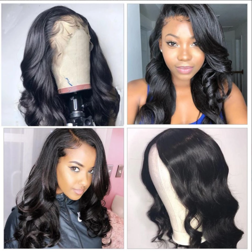 360 Lace Wig Pre Plucked Lace Frontal Hair | Human Hair | Black/Brown Hair