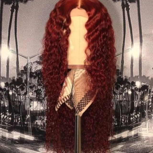 2019 Reddish Brazilian Virgin Hair Wig