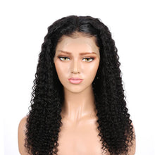 Load image into Gallery viewer, Brazilian Water Wave 360 Lace Frontal Wigs Lace Front Human Hair Wigs Pre Plucked With Baby Hair Remy Brazilian Lace Wig