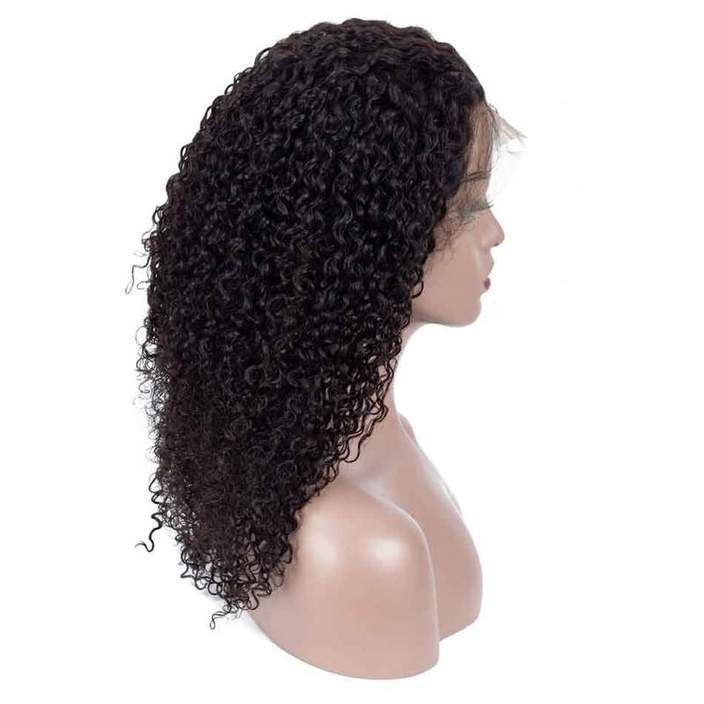 Cheap Human Hair 360 Lace Frontal Wigs Kinky Curly 360 Lace Front Human Hair Wigs For Black Women