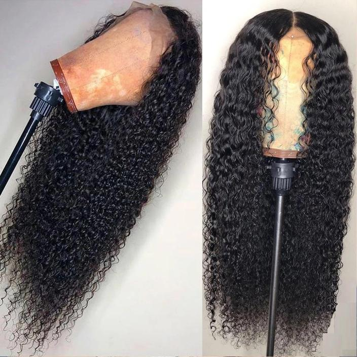 Brazilian Deep Wave Lace Front Human Hair Wigs