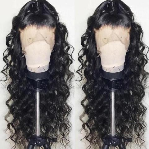 Brazilian Water Wave 360 Lace Frontal Wigs Lace Front Human Hair Wigs Pre Plucked With Baby Hair Remy Brazilian Lace Wig