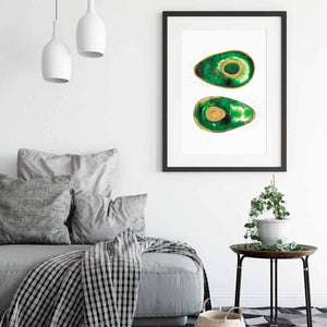 AVOCUDDLE | Avocado Poster | Wall art | Home Decor - Feeb Studio
