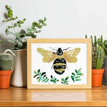 Load image into Gallery viewer, HUMBLE BUMBLE | Bumblebee Poster | Animal Art Print - Feeb Studio