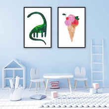 Load image into Gallery viewer, BE COOL | Ice Cream Poster | Wall art | Art Posters - Feeb Studio