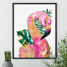 Load image into Gallery viewer, FLAMAZING | Flamingo Poster | Pink Art Print - Feeb Studio