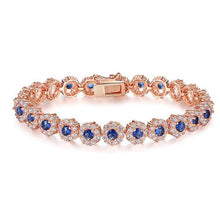Load image into Gallery viewer, Shining AAA Cubic Zircon Crystal Bracelet