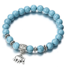 Load image into Gallery viewer, Classic Acrylic Blue Beaded Bracelets