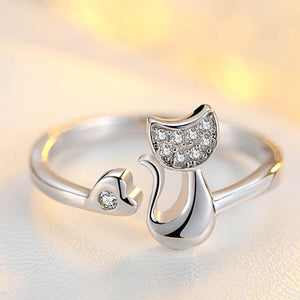 Lovely Cat Ring