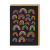 Birthday Wishes Rainbow Greeting Card