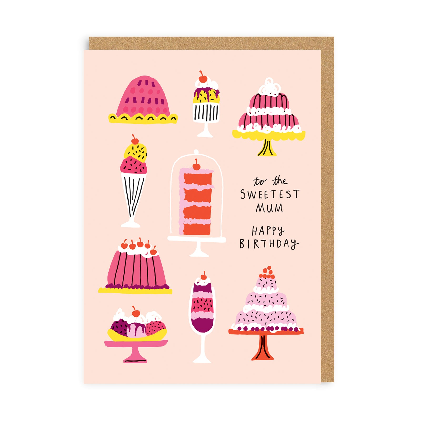 Sweetest Mum Greeting Card