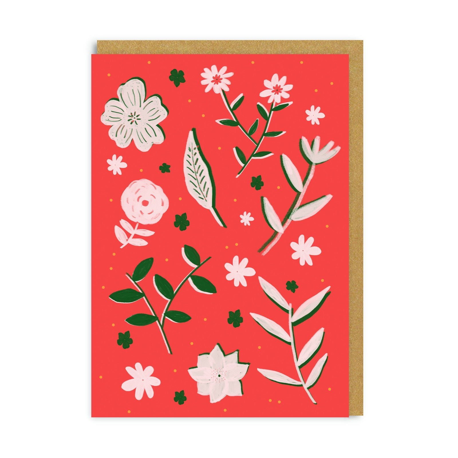 Florals Greeting Card