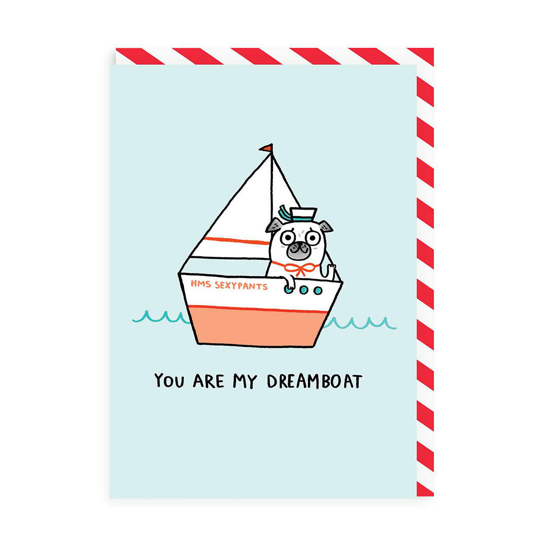 My Dream Boat Greeting Card