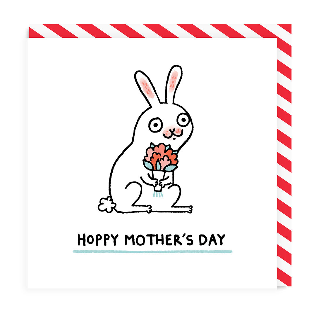 Hoppy Mother's Day Greeting Card