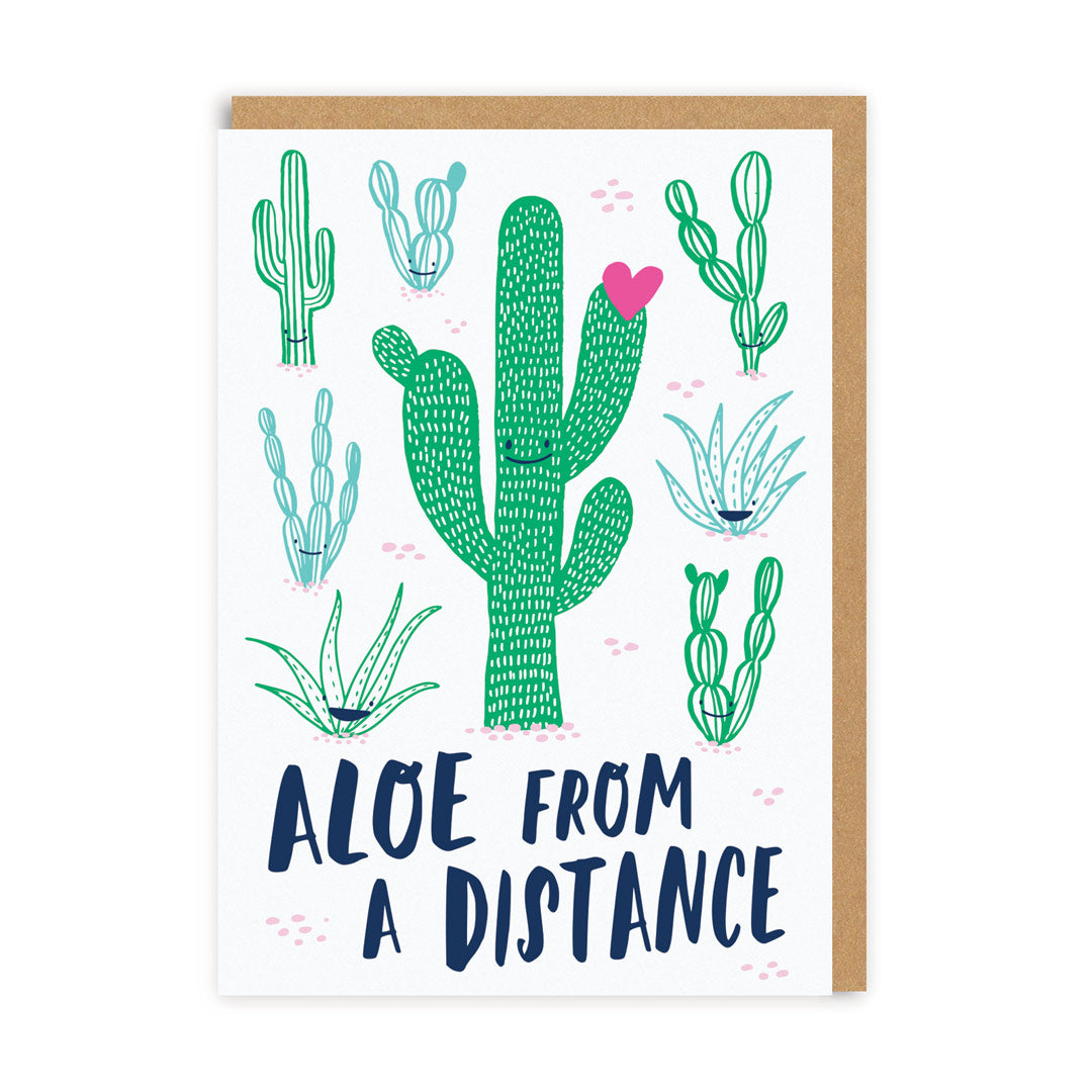 Aloe From A Distance Greeting Card