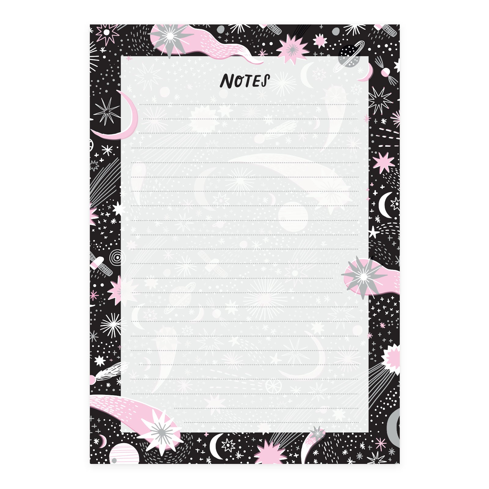 Moonbeams A5 Notepad
