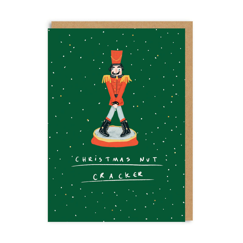 Christmas Nut Cracker Greeting Card