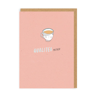 Qualitea Mother Enamel Pin Greeting Card
