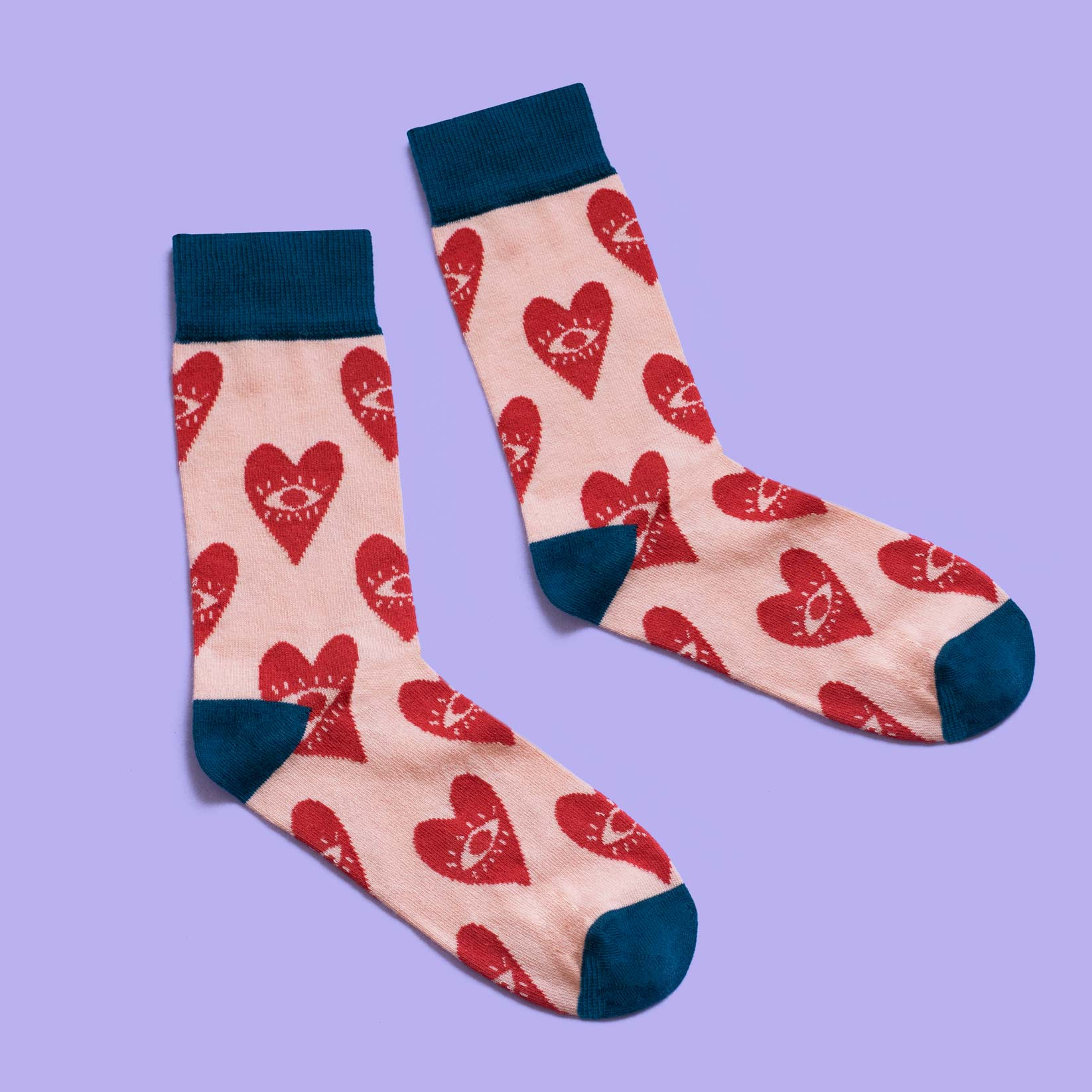 Eye Heart U Socks