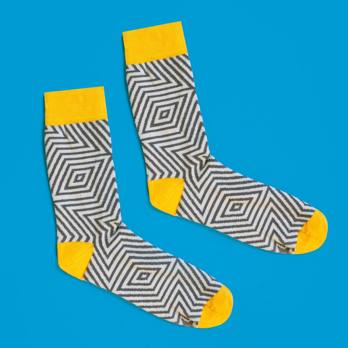 Star Geometric Pattern Socks